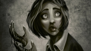 r169_457x256_2442_Scared_2d_fantasy_horror_girl_face_female_woman_picture_image_digital_art