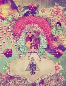 art,drugs,fabianciraolo,mysticism,occult,snowwhite-05d4ad2d88310d398a187eba2369cf9a_h