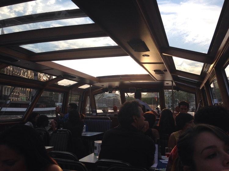 Blue Boat Company Canal Cruise!