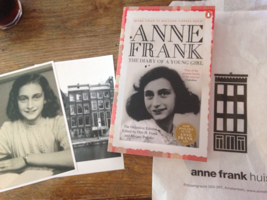 Goodies from Anne Frank House.