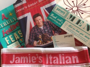 Sophie's Scran: Blogger Event at Jamie's Italian, Glasgow