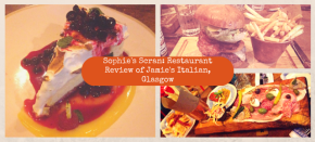 Sophie's Scran: Restaurant Review of Jamie's Italian, Glasgow