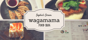 Sophie's Scran: Restaurant Review of wagamama