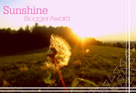 moon child' Sunshine Blogger Nomination   sophie