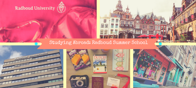 Studying Abroad: Radboud Summer School in the Netherlands