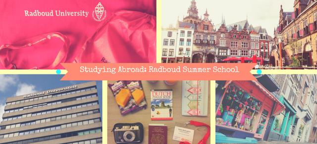 Studying Abroad: Radboud Summer School in the Netherlands