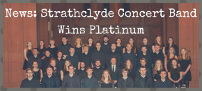 News: Strathclyde Concert Band Wins Platinum Award