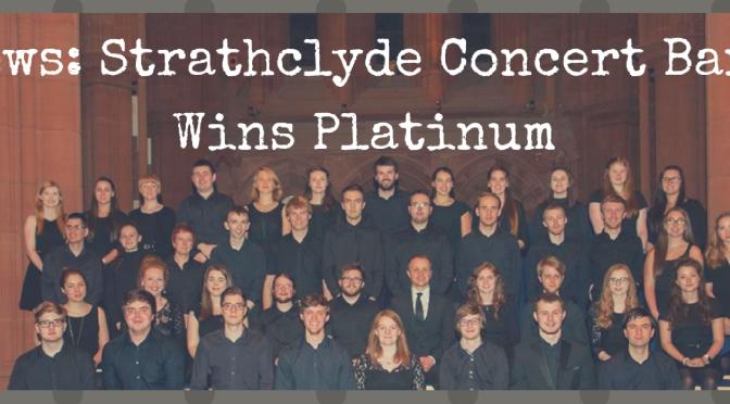 News: Strathclyde Concert Band Wins Platinum Award