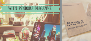 Interview on Scran, Trainspotting and more with Pendora Magazine